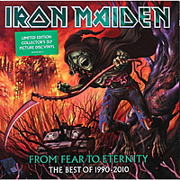 Виниловая пластинка IRON MAIDEN - FROM FEAR TO ETERNITY: THE BEST OF 1990-2010 (3 LP)