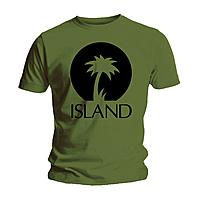 Футболка мужская Island Records - Palm Logo