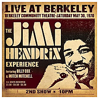 Виниловая пластинка JIMI HENDRIX - LIVE AT BERKELEY (2 LP)