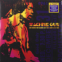 Виниловая пластинка JIMI HENDRIX - MACHINE GUN: JIMI HENDRIX THE FILMORE FIRST SHOW EAST 12/31/1969 (2 LP)