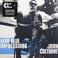 Виниловая пластинка JOHN COLTRANE - AFRO BLUE IMPRESSIONS (2 LP, 180 GR)