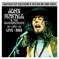 Виниловая пластинка JOHN MAYALL & BLUESBREAKERS - LIVE 1969 (2 LP)