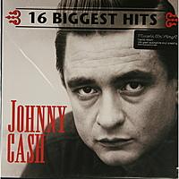 Виниловая пластинка JOHNNY CASH - 16 BIGGEST HITS (180 GR)