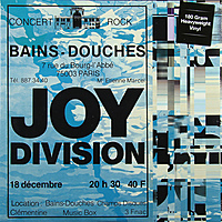 Виниловая пластинка JOY DIVISION - LIVE AT LES BAINS DOUCHES, PARIS, DECEMBER 18, 1979 (180 GR)