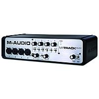 Внешняя студийная звуковая карта M-Audio M-Track QUAD