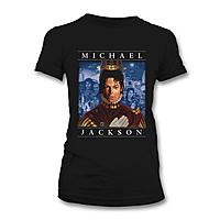 Футболка женская Michael Jackson - Retrospective