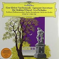 Виниловая пластинка MOZART / BEETHOVEN / SMETANA / LISZT - EINE KLEINE NACHTMUSIK. EGMONT. THE MOLDAU. LES PRELUDES