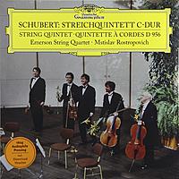 Виниловая пластинка MSTISLAV ROSTROPOVICH - SCHUBERT:STRING QUINTET (180 GR)