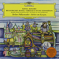 Виниловая пластинка MUSSORGSKY & RAVEL - PICTURES FROM AN EXHIBITION / BOLERO