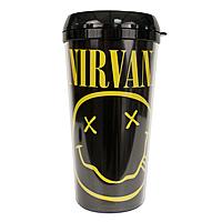 Кружка Nirvana - Smiley Face Logo (дорожная)