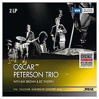 Виниловая пластинка OSCAR PETERSON - 1961 COLOGNE, GURZENICH CONCERT HALL (2 LP)