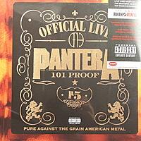 Виниловая пластинка PANTERA - OFFICIAL LIVE 101 PROOF (2 LP, 180 GR)