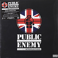 Виниловая пластинка PUBLIC ENEMY - LIVE FROM METROPOLIS STUDIOS (2 LP)