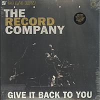 Виниловая пластинка RECORD COMPANY - GIVE IT BACK TO YOU