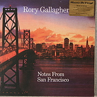 Виниловая пластинка RORY GALLAGHER - NOTES FROM SAN FRANCISCO (3 LP, 180 GR)