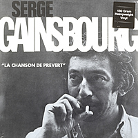 Виниловая пластинка SERGE GAINSBOURG - LA CHANSON DE PREVERT (180 GR)