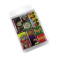 Набор магнитов The Beatles - Sgt Pepper