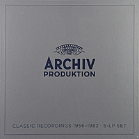 Виниловая пластинка VARIOUS ARTISTS - CLASSIC RECORDINGS 1956-1982 (5 LP)