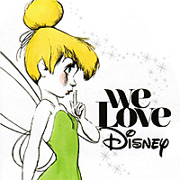 Виниловая пластинка VARIOUS ARTISTS - WE LOVE DISNEY (COLOR, 2 LP)