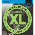 Гитарные струны D'Addario EXL165-6 (для бас-гитары)