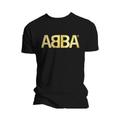 Футболка мужская ABBA - Logo Gold