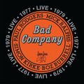 Виниловая пластинка BAD COMPANY - LIVE 1977 (2 LP)