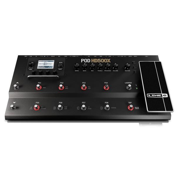 Гитарный процессор Line 6 POD HD500X гитарный процессор line 6 hx effects