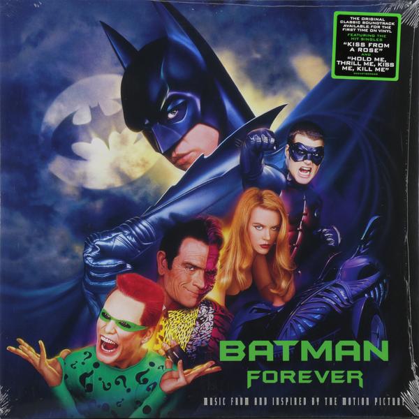 Саундтрек Саундтрек - Batman Forever (2 LP) цена и фото