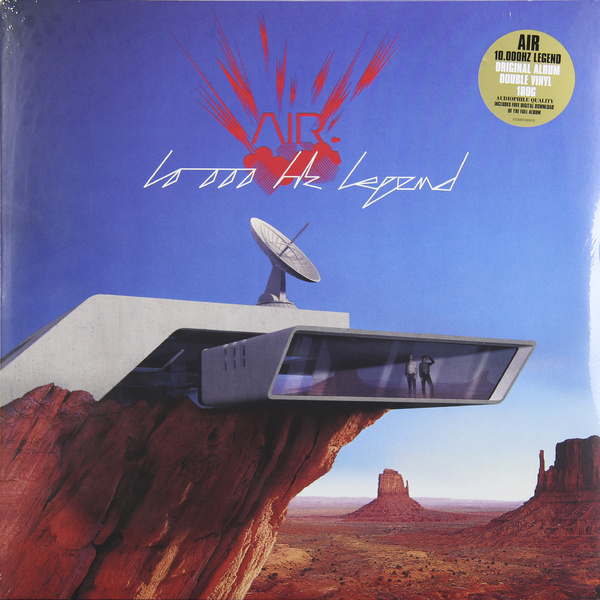 цена на AIR AIR - 10.000 Hz Legend (2 Lp, 180 Gr)