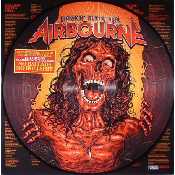 лучшая цена Airbourne Airbourne - Breakin' Outta Hell (picture)