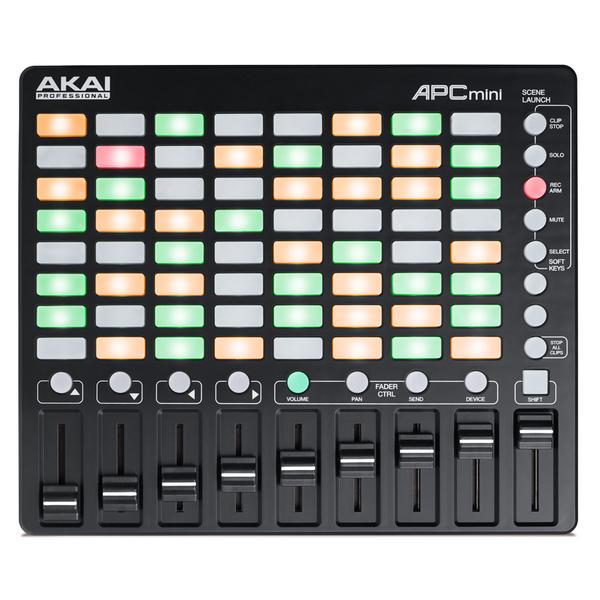 MIDI-контроллер AKAI Professional APC mini midi контроллер novation launchpad mini mk ii