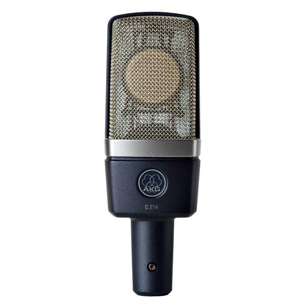 Студийный микрофон AKG C214 студийный микрофон akg c214