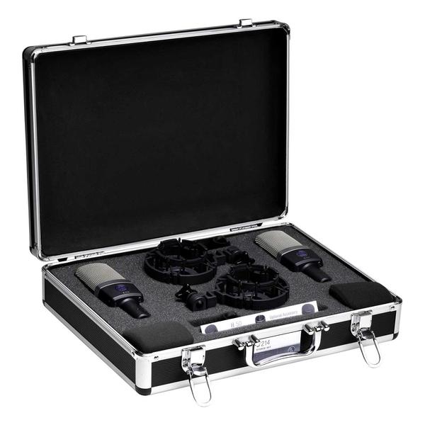 Студийный микрофон AKG C214ST аксессуары для микрофонов радио и конференц систем akg aps4