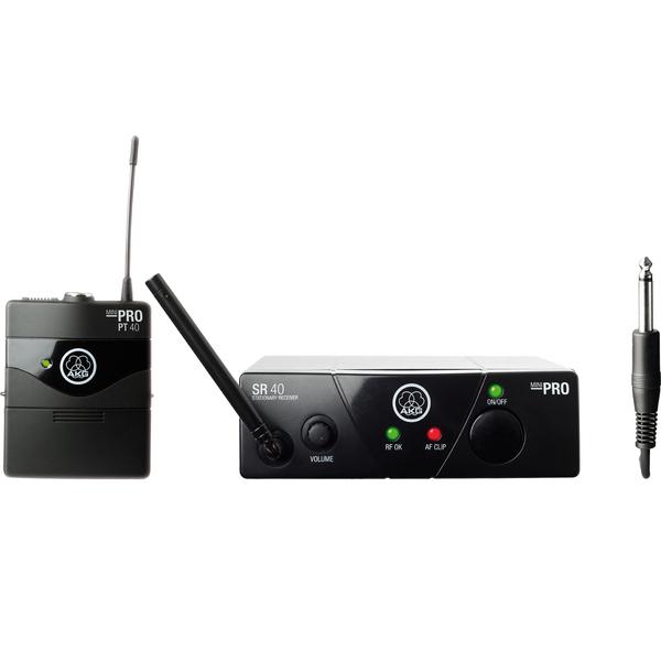 Радиосистема AKG WMS40 Mini Instrumental Set BD US25B радиосистема инструментальная akg wms40 mini2 instrumental set bd ism2 3 864 375