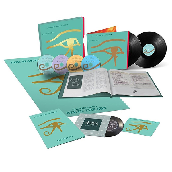 Alan Parsons Project Alan Parsons Project - Eye In The Sky (35th Anniversary) (2 Lp+3 Cd+blu-ray Audio) aluminum project box splitted enclosure 25x25x80mm diy for pcb electronics enclosure new wholesale