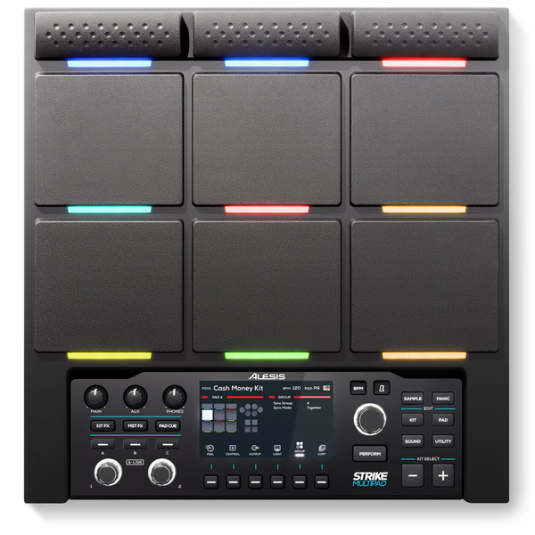 Электронные барабаны Alesis Strike MultiPad колонка alesis m1 active 520 usb