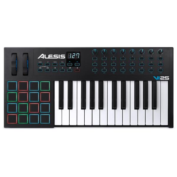 MIDI-клавиатура Alesis VI25 midi клавиатура alesis v49