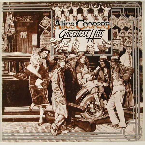 Alice Cooper Alice Cooper - Greatest Hits moyou london alice 08