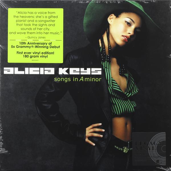 Alicia Keys Alicia Keys - Songs In A Minor (2 Lp, 180 Gr) цена и фото