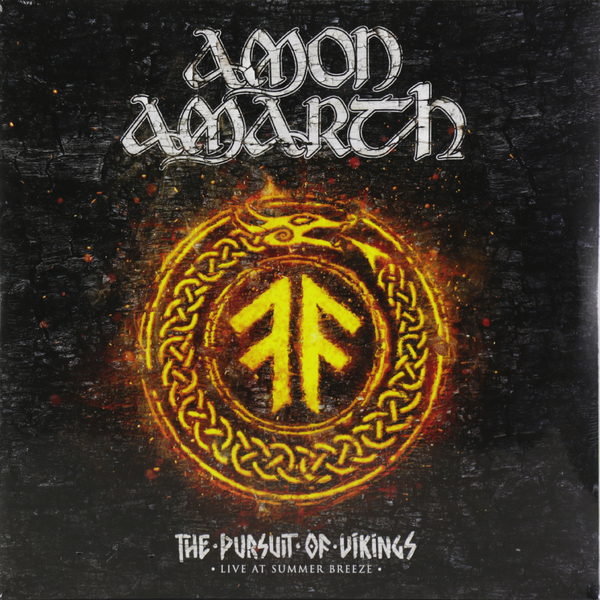 Amon Amarth Amon Amarth - The Pursuit Of Vikings: 25 Years In The Eye Of The Storm (2 LP) цена и фото