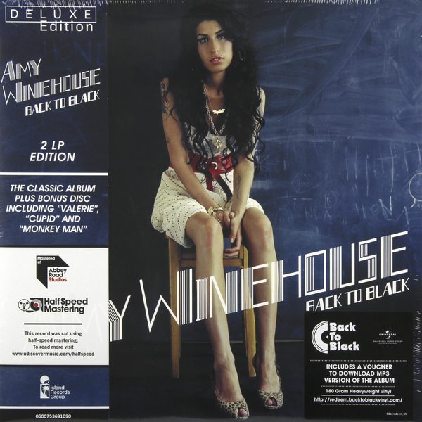 Amy Winehouse Amy Winehouse - Back To Black (2 Lp, 180 Gr) amy winehouse amy winehouse back to black eu