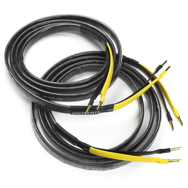 Кабель акустический готовый Analysis-Plus Bi-Oval 9 Bi-Wire 12 ft/3.6 m bi