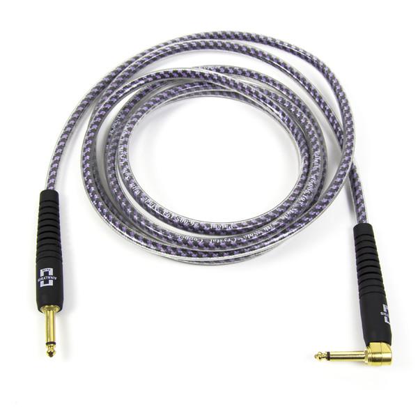 Кабель гитарный Analysis-Plus Pro Oval Studio G&H Plug Gold with OVERMOLD Plug 10 m (прямой/угловой) plug