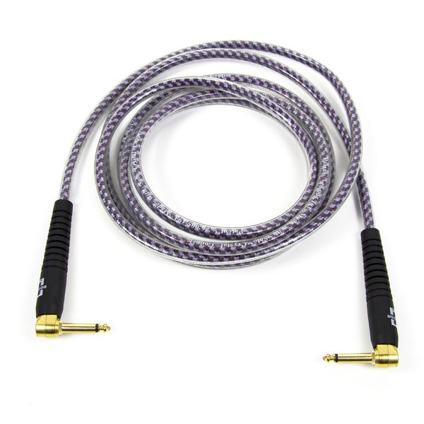 Кабель гитарный Analysis-Plus Pro Oval Studio G&H Plug Gold with OVERMOLD Plug 5 m (угловой/угловой) plug