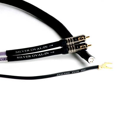 Кабель для тонарма Analysis-Plus Silver Oval Phono Cable 1 m цены онлайн