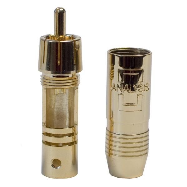 лучшая цена Разъем RCA Analysis-Plus Solder Style non-locking
