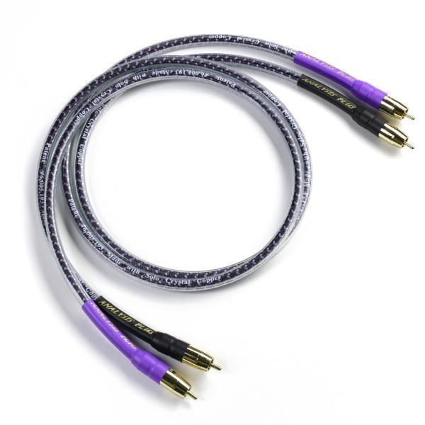 Кабель межблочный аналоговый RCA Analysis-Plus Solo Crystal Oval 1 m кабель межблочный аналоговый rca analysis plus oval one 1 m