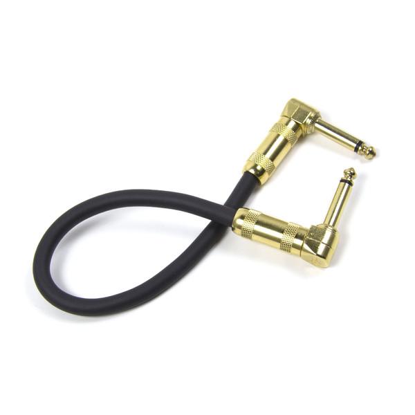 купить Гитарный патч Analysis-Plus Analysis Plus Black Oval G&H Plug Gold 0.6 m (угловой/угловой) по цене 5355 рублей