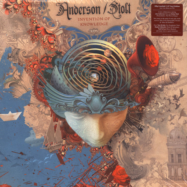 Anderson / Stolt Anderson / Stolt - Invention Of Knowledge (2 Lp + Cd) cd диск anderson laurie heart of a dog 1 cd
