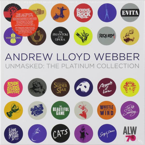 Andrew Lloyd Webber Andrew Lloyd Webber - The Platinum Collection (5 LP) andrew ibi футболка